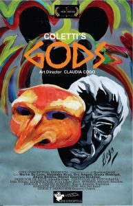 "[Official poster for film ""Gods""/""Dioses"".]"